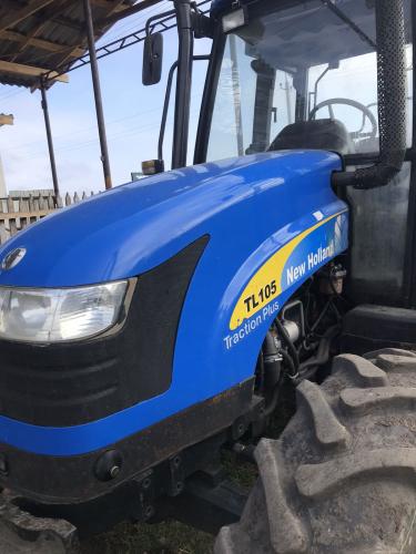 Трактор NEW HOLLAND TL105 - 3