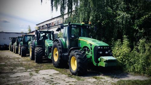 Трактор JOHN DEERE 8430-8410 - 1