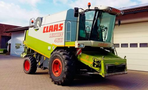 Комбайн CLAAS lexion 460 - 1