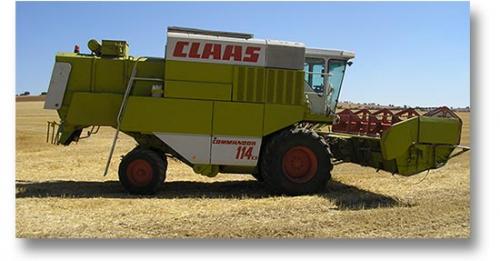 Комбайн CLAAS 114 CS - 1