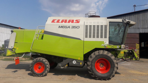 Комбайн CLAAS mega 350 - 1