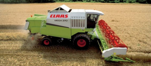 Комбайн CLAAS mega 370 - 1