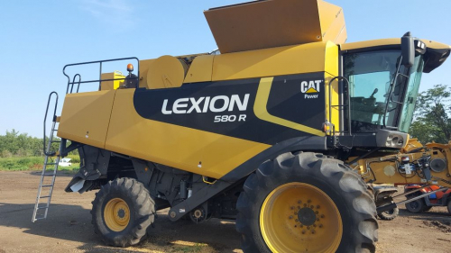 Комбайн CATERPILLAR lexion 580 - 1