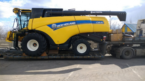 Комбайн NEW HOLLAND CX8.80 - 1