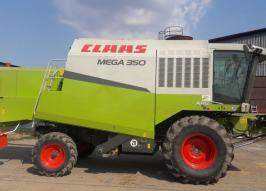 Комбайн CLAAS mega 350 (1377)