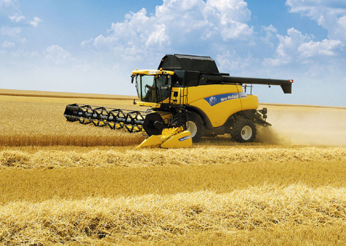 Комбайн NEW HOLLAND CR9080 - 1