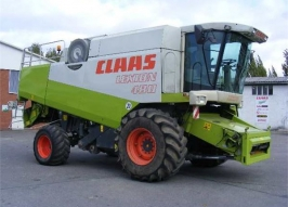 Комбайн CLAAS lexion 480 (398)