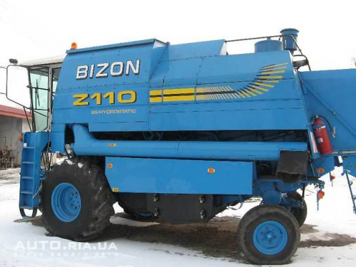 Комбайн NEW HOLLAND bizon 110 - 1