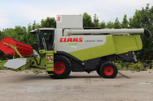 Комбайн CLAAS lexion 580 - 1