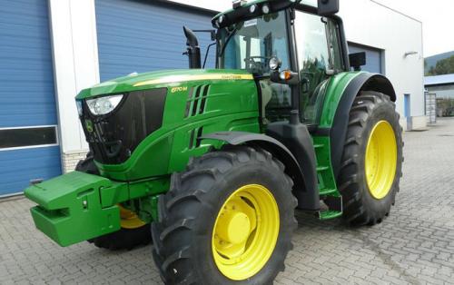 Трактор JOHN DEERE 6170 - 1