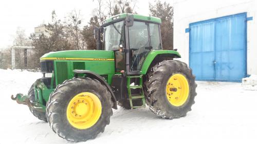 Трактор JOHN DEERE 7700 - 1