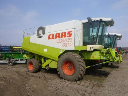 Комбайн CLAAS lexion 480 - 1