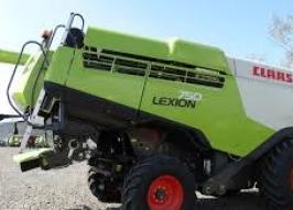 Комбайн CLAAS lexion 750 (1156)