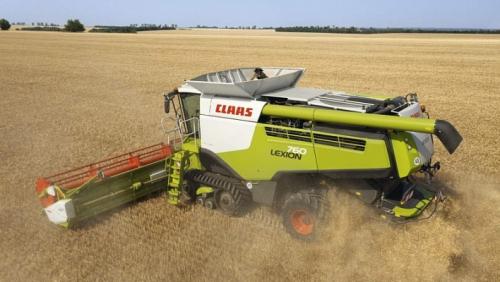 Комбайн CLAAS lexion 760 - 1
