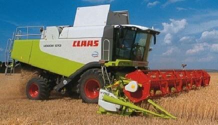 Комбайн CLAAS lexion 570 - 1