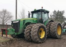 Трактор JOHN DEERE 8360R (2329)