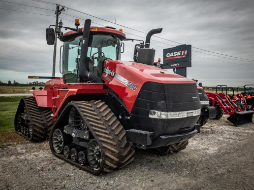 Трактор CASE IH Quadtrac 500 - 1