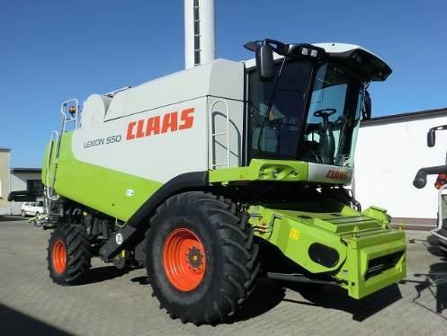 Комбайн CLAAS lexion 550 - 1