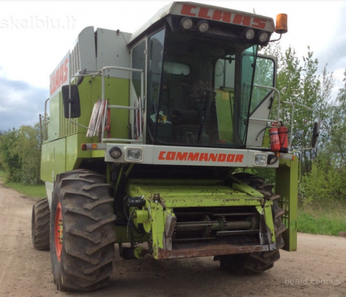 Комбайн CLAAS Commandor - 1