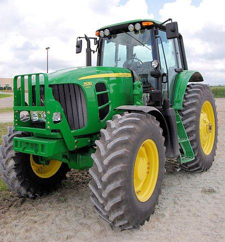 Трактор JOHN DEERE 7000 - 1