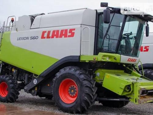 Комбайн CLAAS lexion 560 - 1