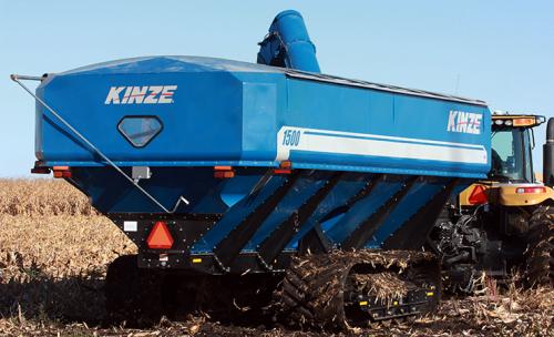 Бункер перегрузчик KINZE Grain Cart 1500 - 3