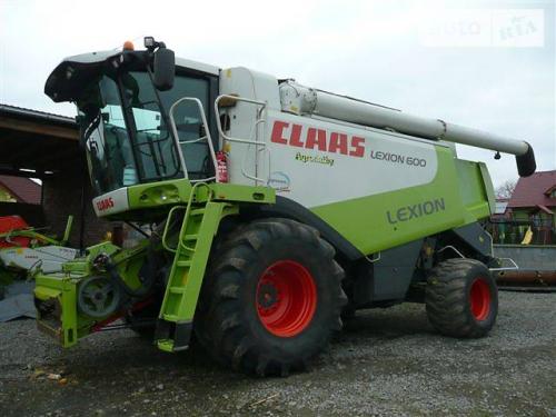 Комбайн CLAAS lexion 600 - 1