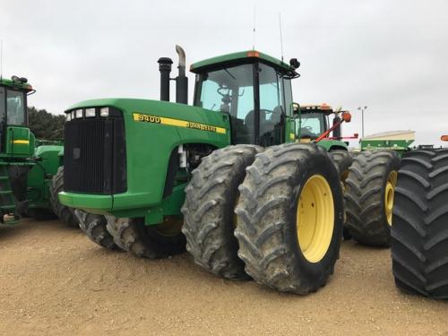 Трактор JOHN DEERE 9400 - 1
