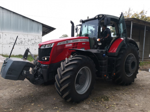 Трактор MASSEY FERGUSON 8740S - 1