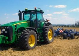 Трактор JOHN DEERE 8530 (100)